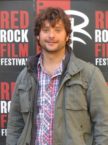 Benoit Desjardins attending the Red Rock Film Festival